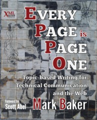 Every Page is Page One, by Mark Baker